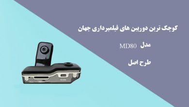 کوچک ترین دوربین های فیلمبرداری جهانMD80طرح اصل